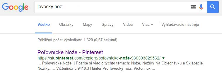 google-search-pinterest-lovecky-noz